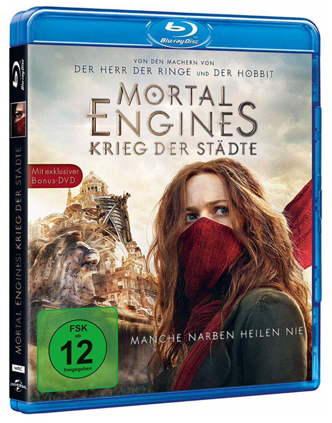 Mortal Engines: Krieg der Städte (Blu-ray) [Prime]