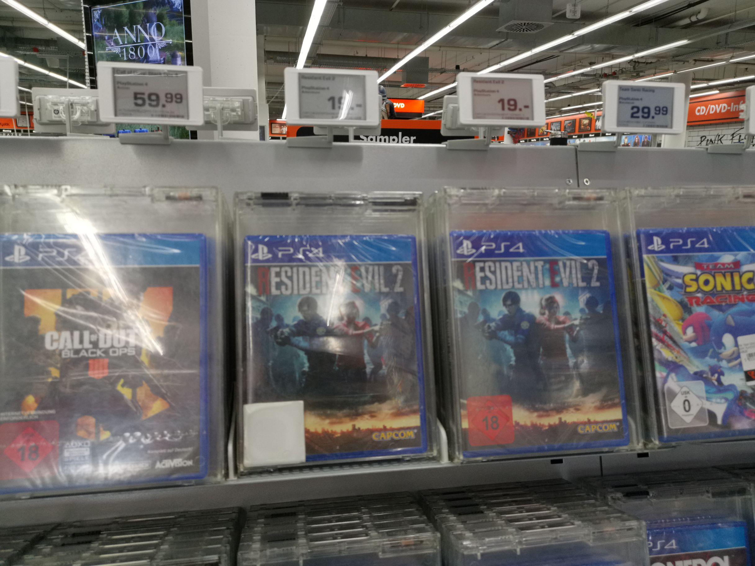 [Lokal Saturn Wuppertal] Resident Evil 2 Remake für 19€