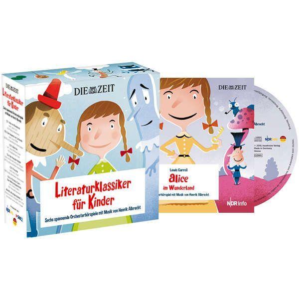 6 Hörbücher für Kinder im Set ausgewählt von der Wochenzeitung DIE ZEIT