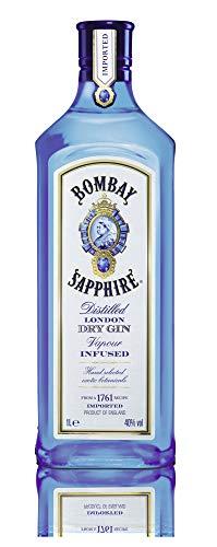 Bombay Sapphire London Dry Gin (1 x 1 l) (Amazon Prime, non Prime 22,09€)