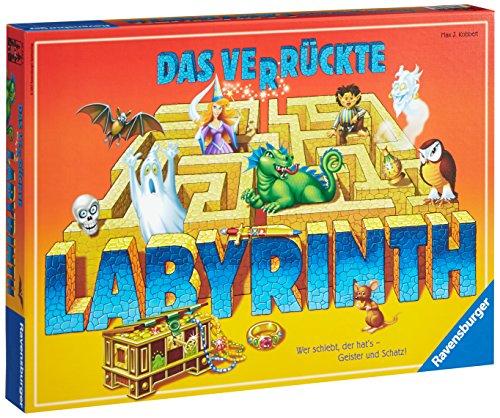Ravensburger: Das verrückte Labyrinth (2-4 Spieler) [Real & Amazon Prime]