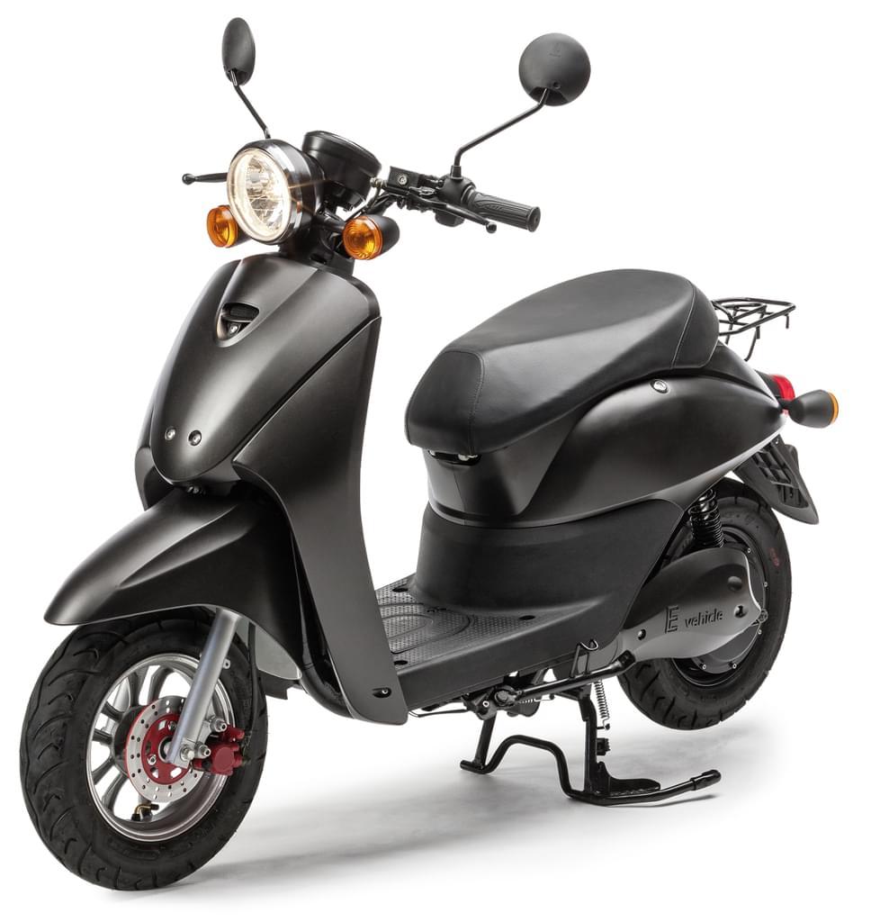 Elektro-Roller E2GO, 45 km/h, 2600 Watt Motor, 72V/20Ah Lithium-Polymer-Akku