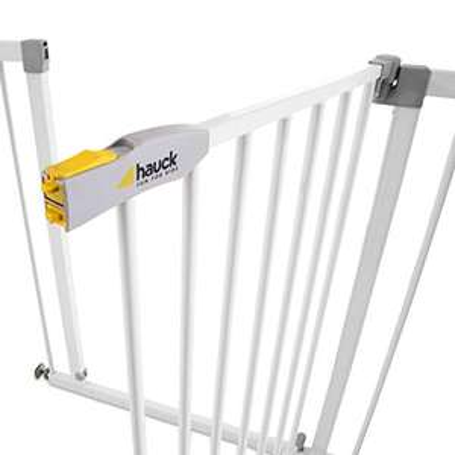 Hauck Open N Stop KD (Modell 2019) Türschutzgitter / Treppengitter | 75 - 80 cm / ohne Bohren
