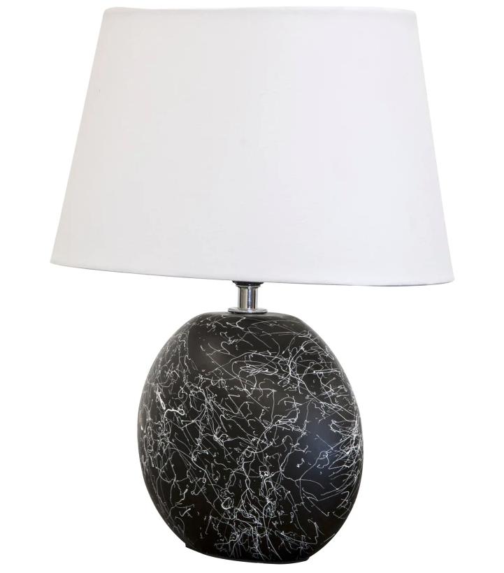 """Nino Leuchten Keramik-Tischleuchte """"Sammy"""" (E14, In 3 Varianten verfügbar) Passendes LED-Leuchtmittel 0,82€ [Hardeck]"""