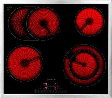 BOSCH Elektro-Kochfeld von SCHOTT CERAN® Serie 6 PKN645F17R, mit ReStart-Funktion