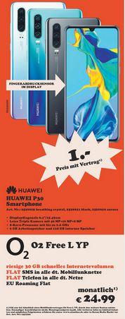[Young + Regional Belm-Osnabrück] Huawei P30 im O2 Free L (30GB LTE, Allnet/SMS) mtl. 24,99€