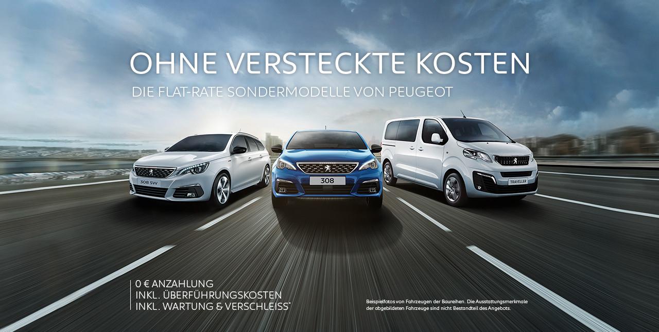 Privat-Leasing Sonderaktion von Peugeot *Sammeldeal*