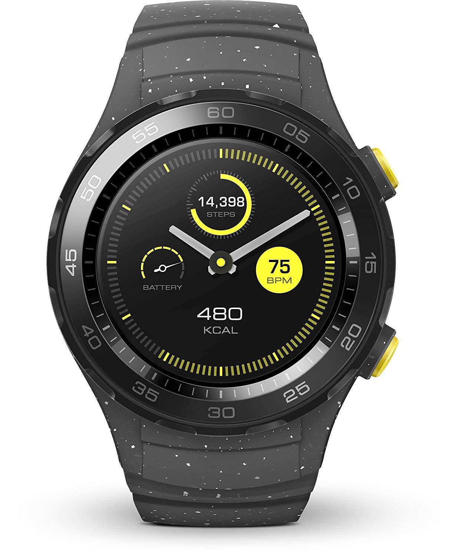 "Huawei™ - Smartwatch ""Watch 2"" (NFC,Bluetooth,WLAN,Android Wear,Grau) für €131,12 [@Amazon.it]"