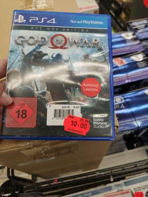 [Real Lokal Bamberg] God of War Day one Edition ps4 für 10€
