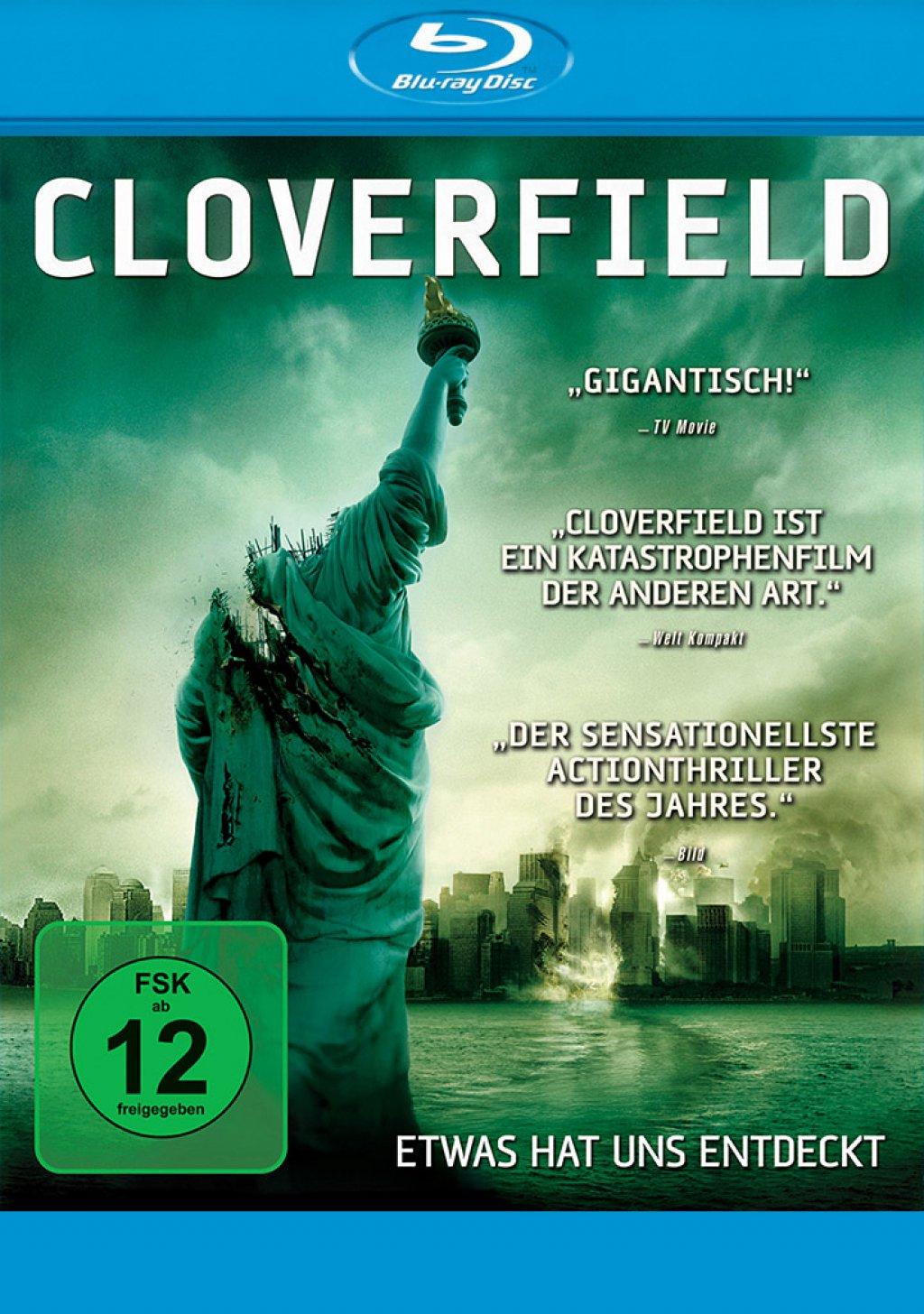 Cloverfield (Blu-ray) für 3,86€ (Dodax)
