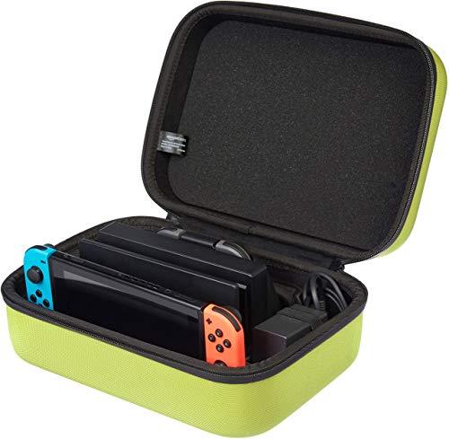 AmazonBasics - Reise- und Aufbewahrungsbox Nintendo Switch (Neongelb) für 9,58€ (Amazon Prime)