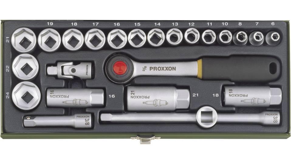 """Proxxon Steckschlüsselsatz 3/8"""" 24-tlg."""