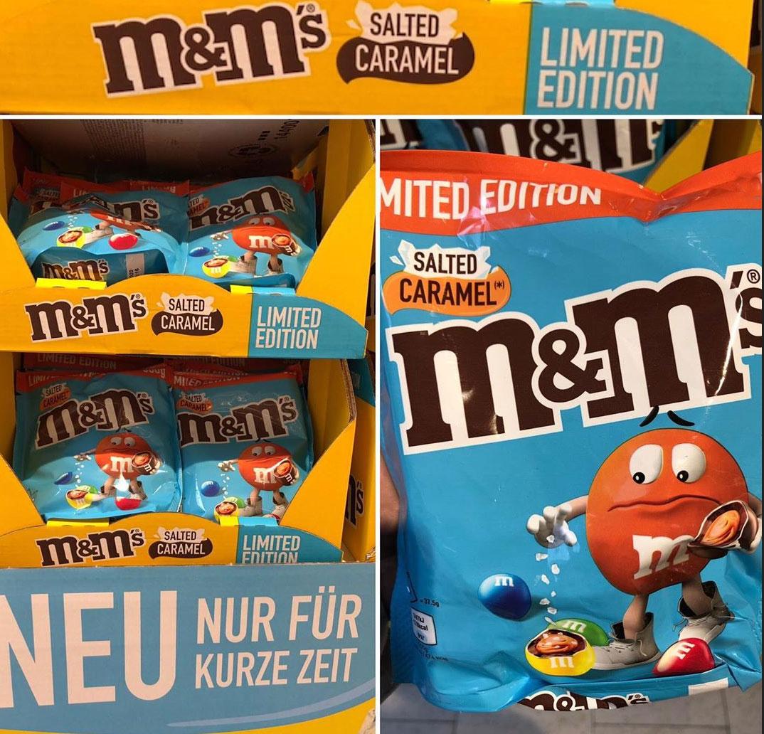 m&m's Salted Caramel Limited Edition und weitere Sorten m&m's (Netto MD & Lidl)