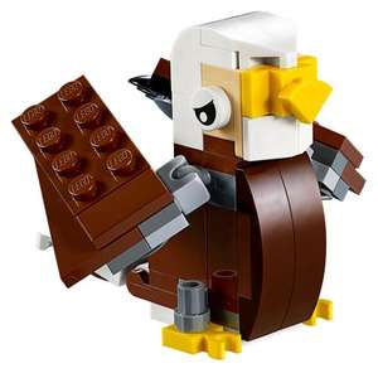 Gratis Lego Mini Modell Bautag - Adler