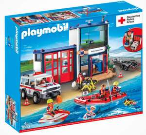 PLAYMOBIL Deutsches Rotes Kreuz, DRK Mega-Set 9533