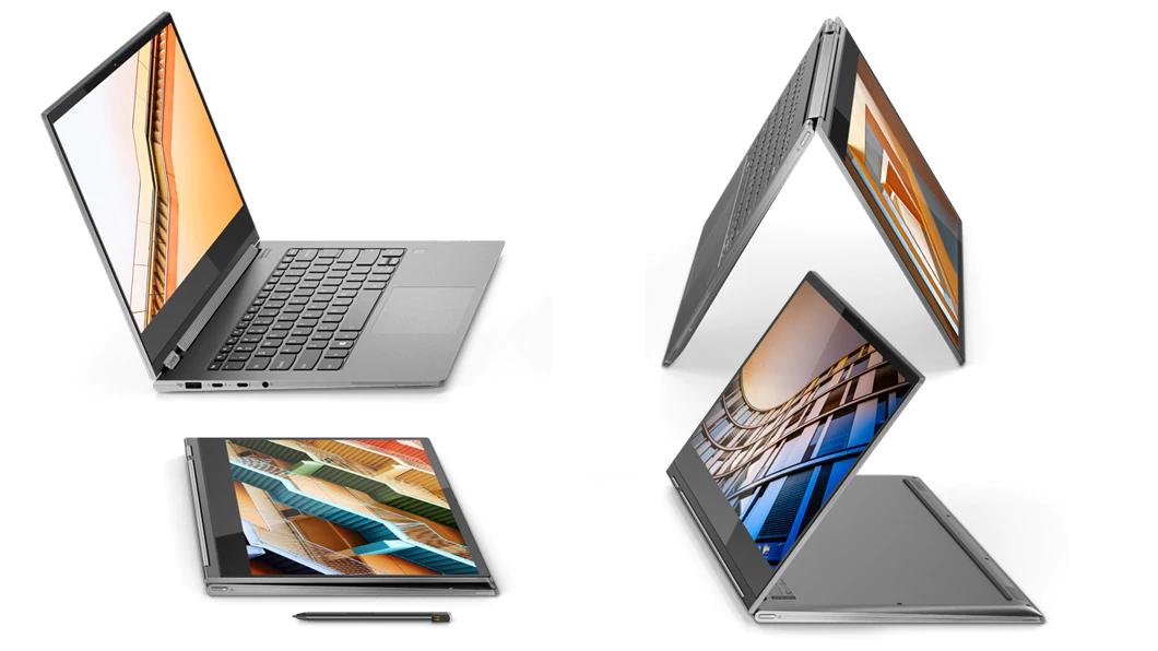 "Lenovo Yoga C930-13IKB 360° Convertible mit 12% Rabatt: 13,9"" UHD IPS Touchscreen, 16GB RAM, 1TB SSD, Windows 10 Pro, Active Pen, 1,3 kg"