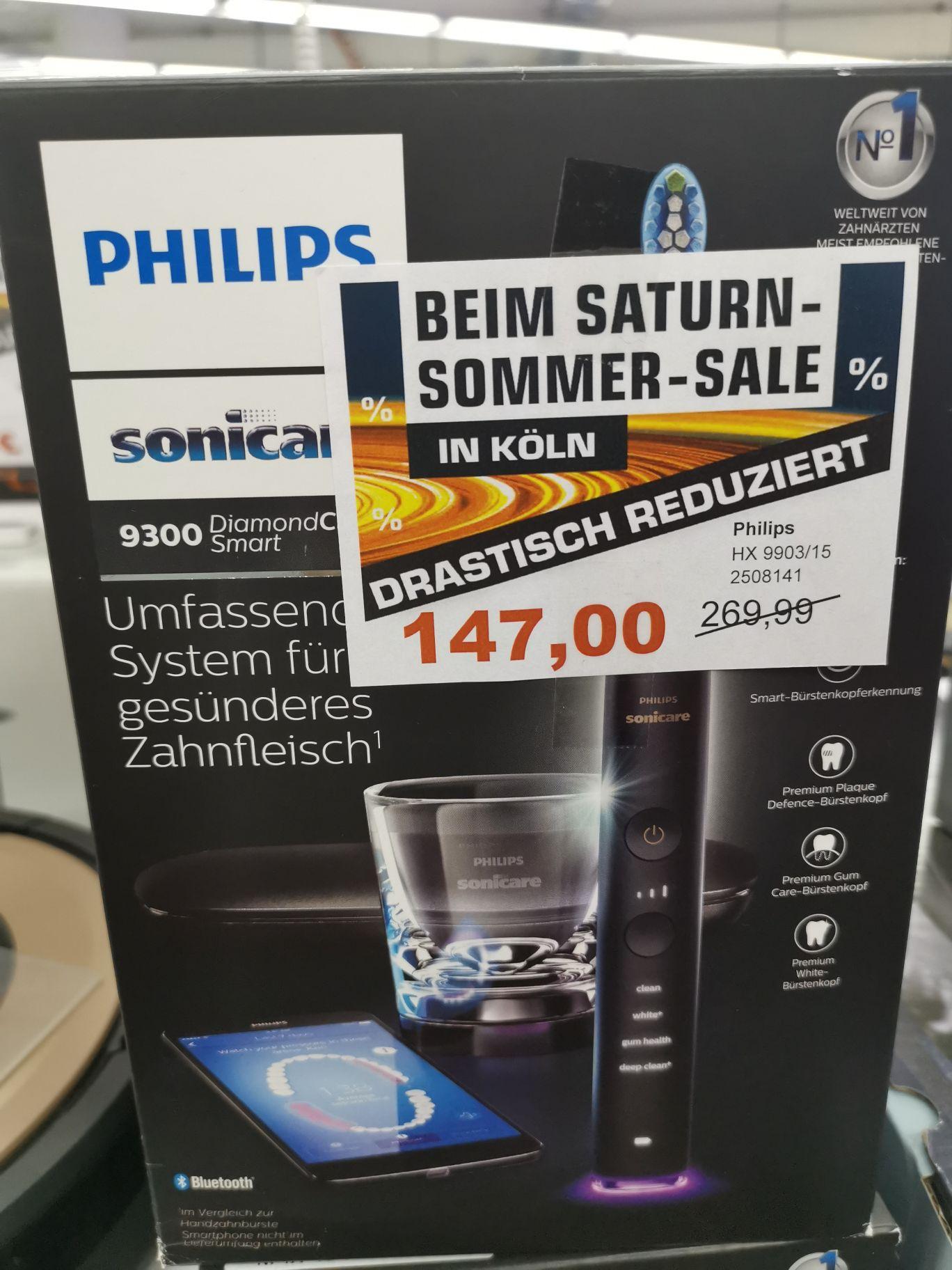 [Lokal Saturn Köln Hansaring] Philips hx9903/15 Elektrische Zahnbürste