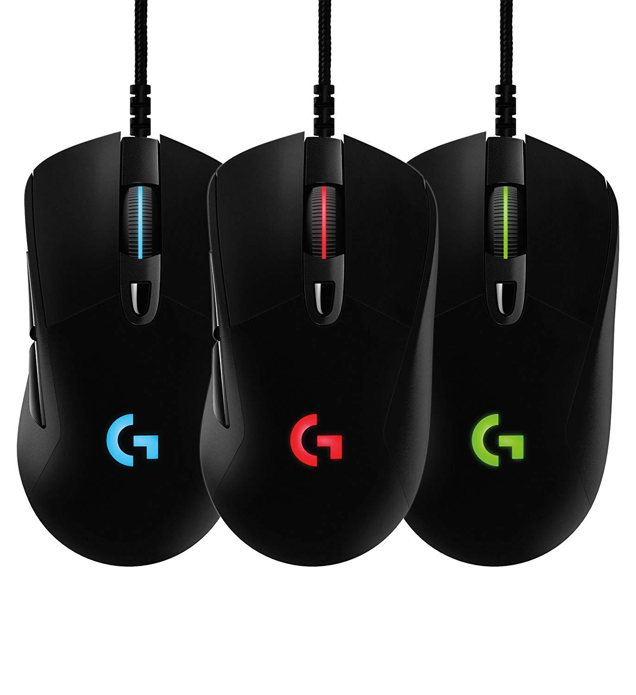 Logitech Prodigy G403 - Gaming Maus mit RGB Beleuchtung, Zusatzgewicht, 12.000 DPI
