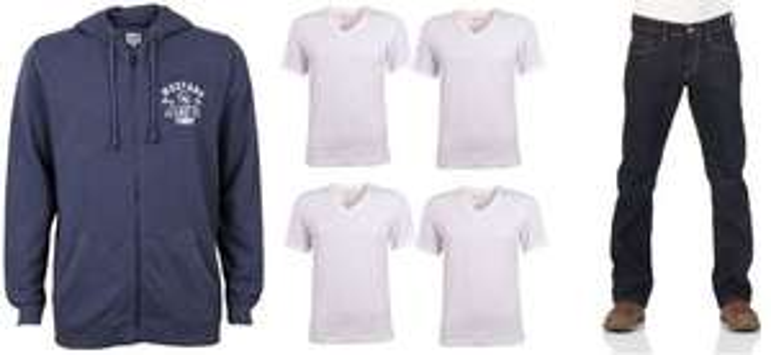 [Jeans-Direct] 30 % auf gesamten SALE bei 40€ MBW, zB Jacke + 4er Shirts + Jeans
