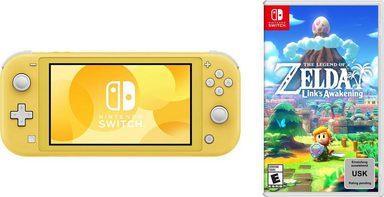 Nintendo Switch Lite & The Legend of Zelda: Link's Awakening für 275,94€ @@@Otto.de