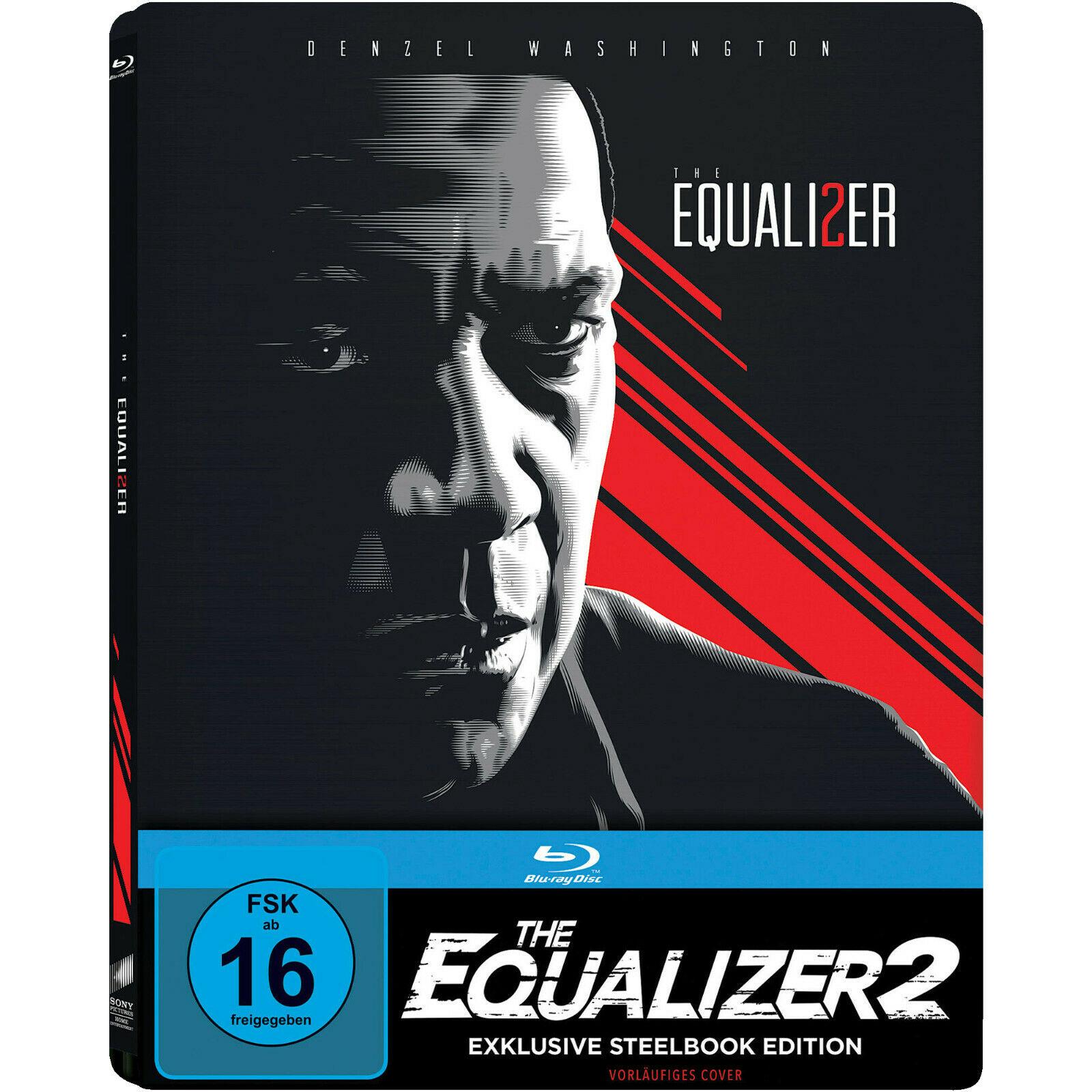 The Equalizer 2 Limited Steelbook Edition (Blu-ray) 7€ versandkostenfrei (Saturn)