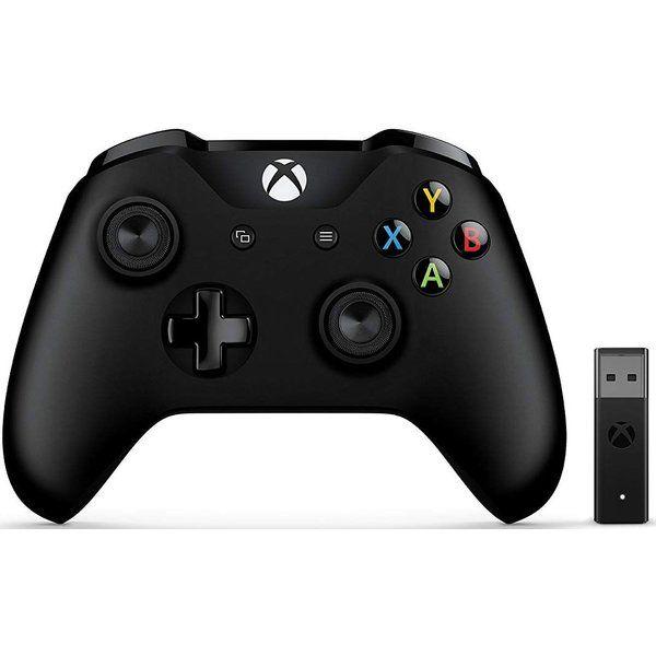 [Check24.de] Microsoft Xbox Controller (mit Wireless Adapter für Windows) schwarz für 39,99€ inkl. Versand