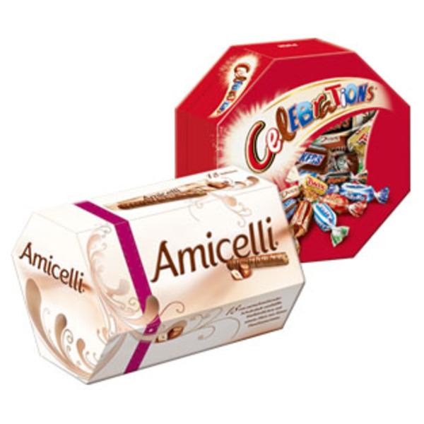 [Müller] Celebrations 186g oder Amicelli 225g für 1,79€