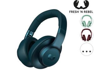 "Fresh 'n Rebel Bluetooth Over-Ear Kopfhörer ""Clam ANC"" (Qualcomm apt, Akkulaufzeit bis 35 Stunden, Mikrofon + FB, Headset-Funktion) [iBOOD]"