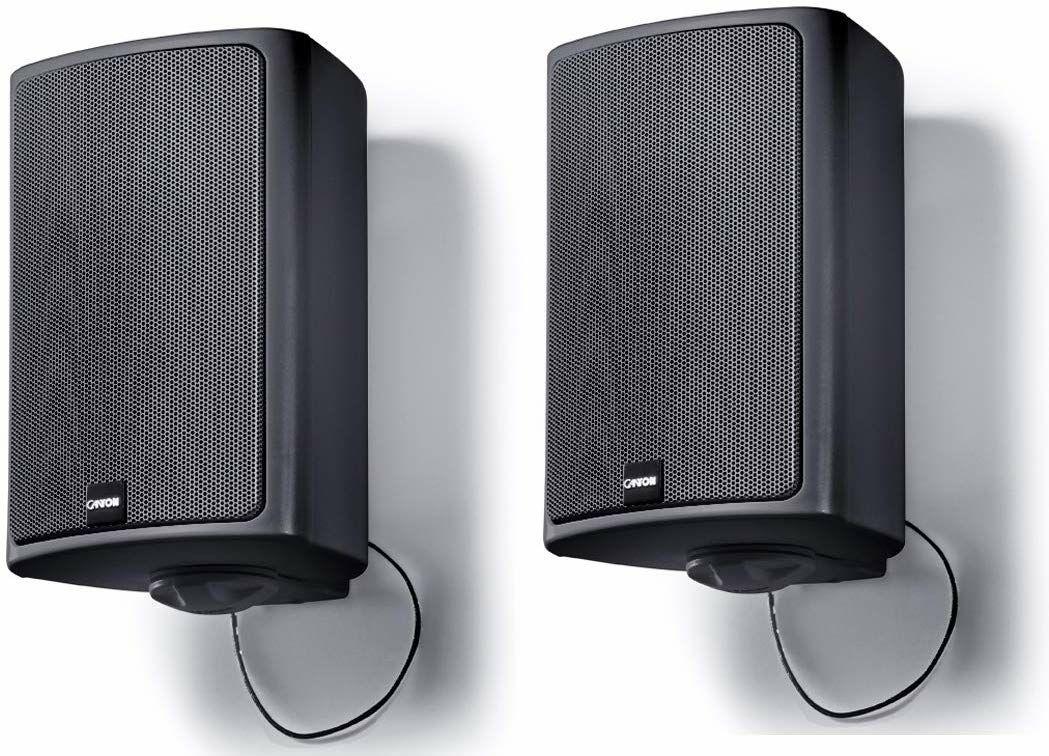 Canton Pro X.3 Outdoor-Lautsprecher (Paarpreis, 2-Wege, 2,5cm Hochtöner, 11cm Tieftöner, 45Hz - 26kHz, 87dB, 8Ω)