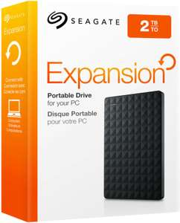 Seagate Expansion+ Portable 2TB, USB 3.0 Micro-B (STEF2000401) externe Festplatte