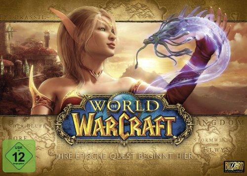 World of Warcraft Battlechest 4.0 (PC) inkl. 30 Tage Spielzeit für 9,99€ (Amazon Prime & GameStop)