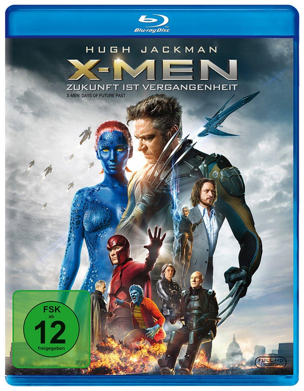 X-Men: Zukunft ist Vergangenheit (Blu-ray) für 3,68€ (Dodax)