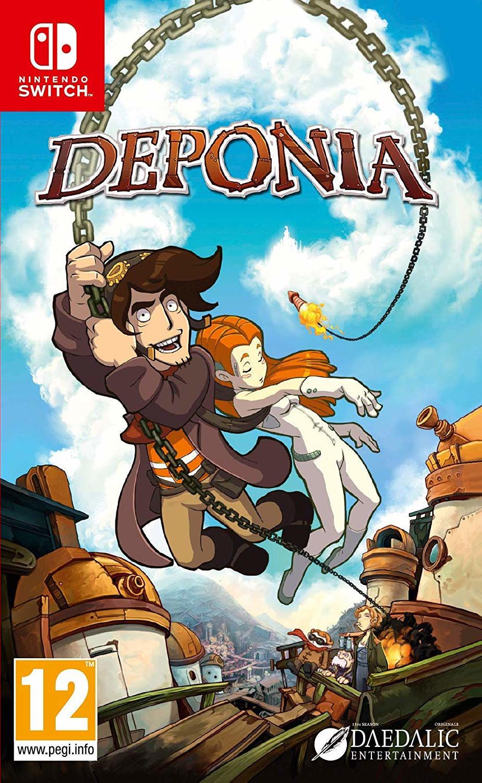 Deponia (Switch) für 15,64€ (Base.com)