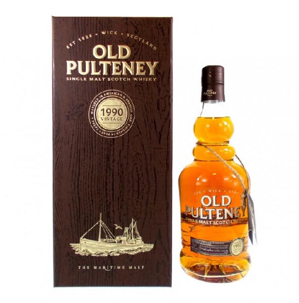 Single Malt Whiskey - Old Pulteney 1990 Vintage - 26 Jahre