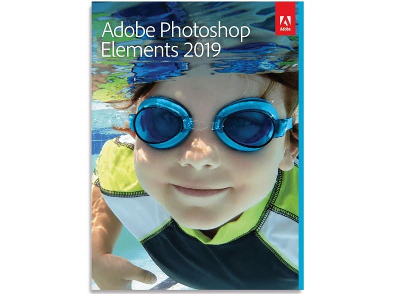 [Rakuten] Adobe Photoshop Elements 2019, 1 Gerät, Vollversion, Deutsch, Windows/Mac, Download-Software
