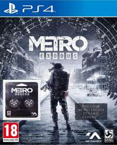 Metro Exodus (PS4) + Dualshock Thumb Grips für 28,90€ (HD Gameshop)
