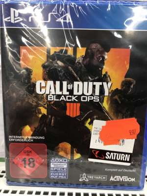 [LOKAL SATURN HENNEF] Call of Duty Black Ops 4 PLaystation 4