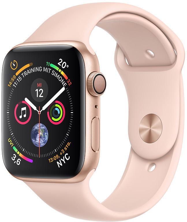 Apple Watch Series 4 40mm Aluminiumgehäuse gold für 360,90€ inkl. Versandkosten