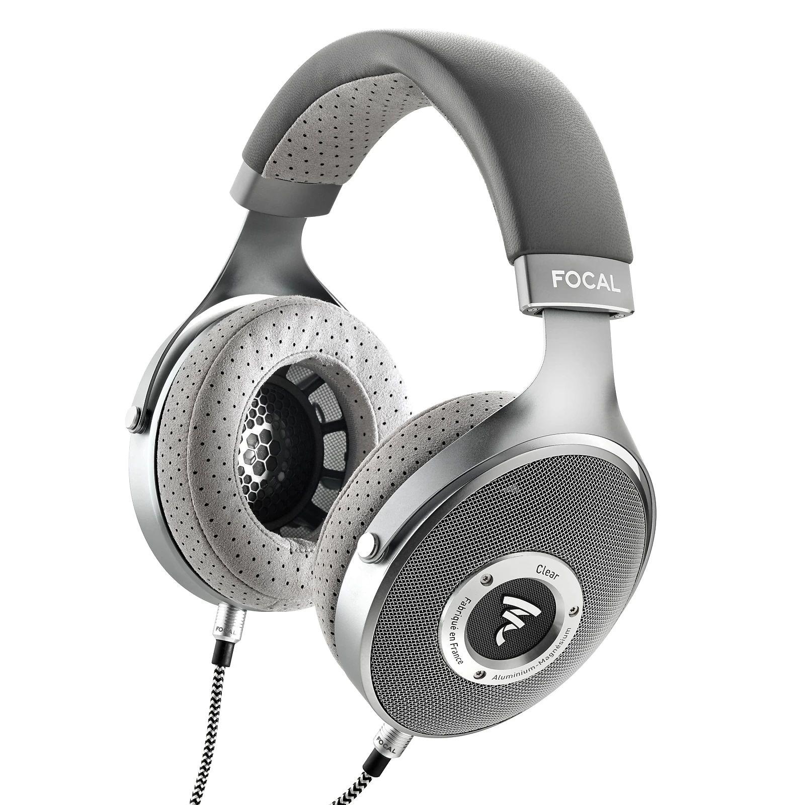 Focal Clear - Offener High-End Kopfhörer (Made in France, 40mm Membran, 55Ω, 5Hz - 28kHz, 104dB bei 1mW)