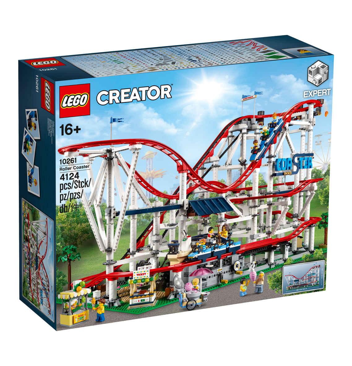 LEGO Creator Expert 10261 Achterbahn bei mytoys