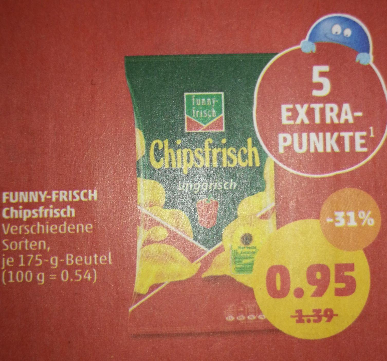 Funnyfrisch Chips Bei Penny für 95 Cent (plus 5 Payback Punkte)