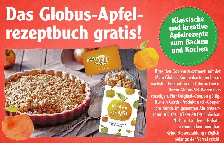 [Globus] Gratis Apfel Rezeptbuch mit Kundenkarte