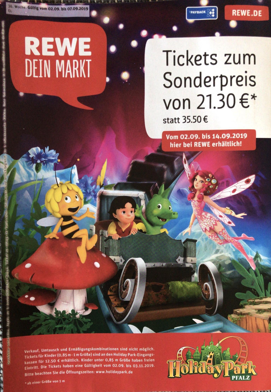 Holiday Park Tickets für 21.30 € bei REWE