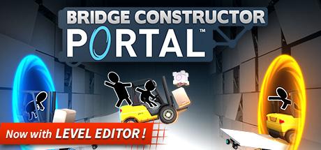 Bridge Constructor Portal für 3,99€ bei Steam direkt