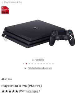 Playstation 4 Pro bei Otto
