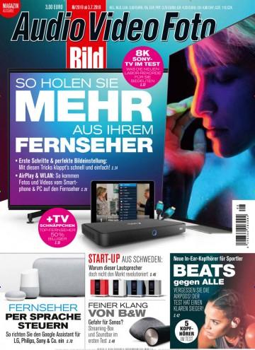 Audio Video Foto Abo (12 Ausgaben) für 52,80 € mit 50 € Verrechnungsscheck (Kein Werber nötig)