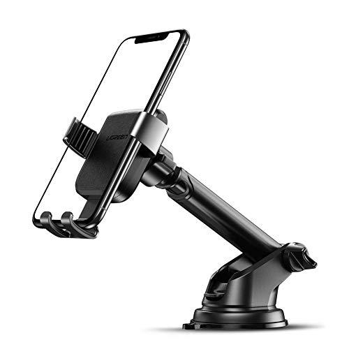 """Ugreen Handyhalterung mit Arm und Saugnapf (für Geräte von 4.7"""" bis 6.5"""", 360°-Kugelgelenk, Länge verstellbar)"""