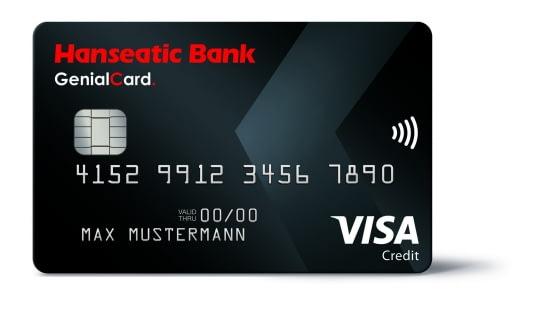 Hanseatic Genialcard nun ohne AEE und mit kostenloser Barabhebung, 30€ Startguthaben