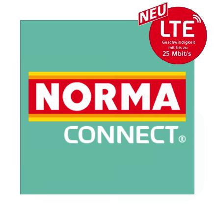 Norma Connect Prepaid Tarife mit LTE 25 im Telekom-Netz: z.B. 2GB LTE + Allnet- & SMS-Flat für 7,99€ / 4 Wochen (ca. 8,56€ / Monat)