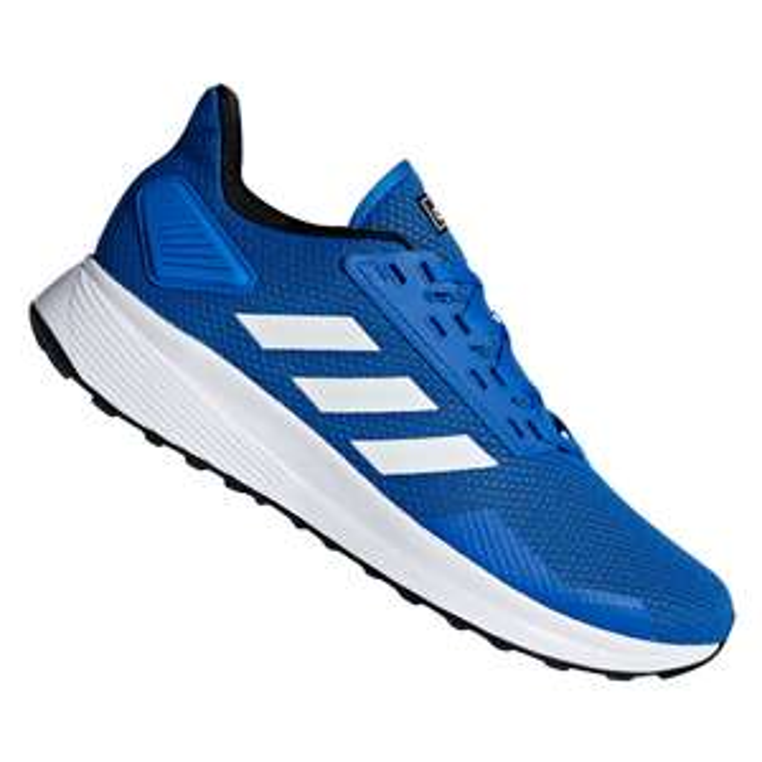 adidas Schuh Duramo 9, blau (Gr. 42 bis 46 2/3)